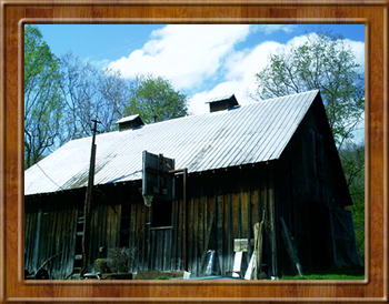 Perry Gatewood's barn