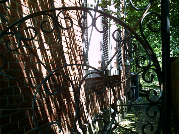 Gatewood house gate